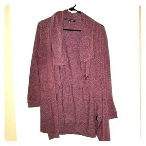 Sweet Rain Cellar Open Front Drape Cardigan